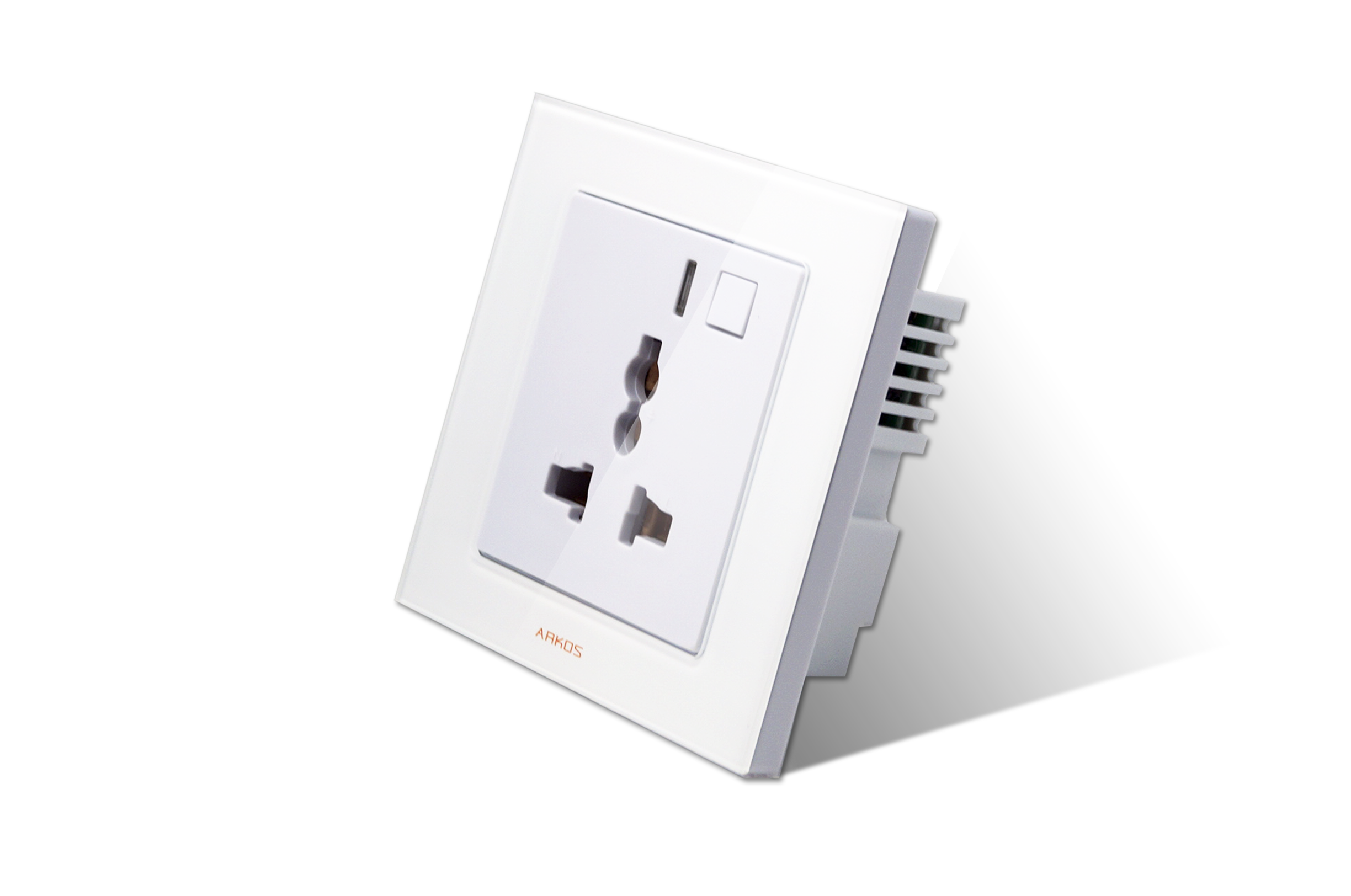 Smart Standalone 1 Zone Wifi Socket. White