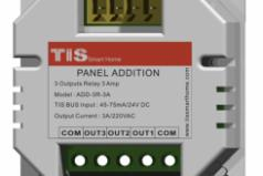Panel Addition 3 Relay 5Amps